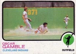 1973 Topps Baseball Cards      372     Oscar Gamble