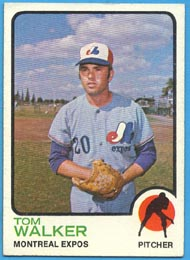 1973 Topps Baseball Cards      041      Tom Walker RC