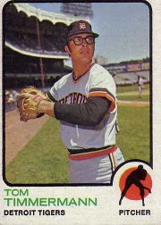 1973 Topps Baseball Cards      413     Tom Timmermann