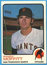 1973 Topps Baseball Cards      043      Randy Moffitt RC