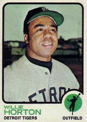 1973 Topps Baseball Cards      433     Willie Horton
