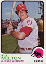 1973 Topps Baseball Cards      455     Bill Melton