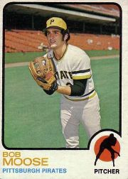 1973 Topps Baseball Cards      499     Bob Moose