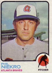 1973 Topps Baseball Cards      503     Phil Niekro