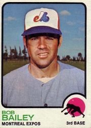 1973 Topps Baseball Cards      505     Bob Bailey