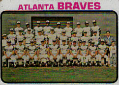 1973 Topps Baseball Cards      521     Atlanta Braves TC