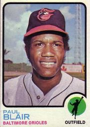 1973 Topps Baseball Cards      528     Paul Blair