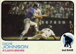 1973 Topps Baseball Cards      550     Dave Johnson