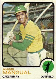1973 Topps Baseball Cards      625     Angel Mangual