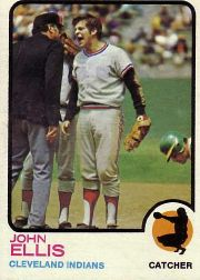 1973 Topps Baseball Cards      656     John Ellis