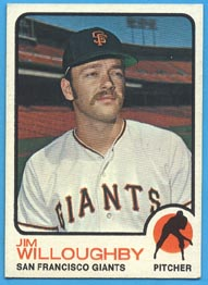1973 Topps Baseball Cards      079      Jim Willoughby RC