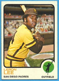 1973 Topps Baseball Cards      083      Leron Lee