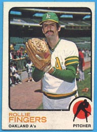 1973 Topps Baseball Cards      084      Rollie Fingers