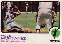 1973 Topps Baseball Cards      097      Willie Montanez