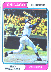 1974 Topps Baseball Cards      110     Billy Williams