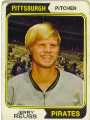 1974 Topps Baseball Cards      116     Jerry Reuss