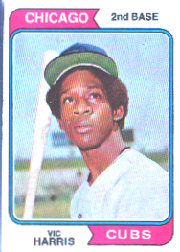 1974 Topps Baseball Cards      157     Vic Harris