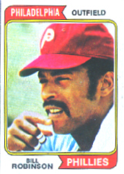 1974 Topps Baseball Cards      174     Bill Robinson
