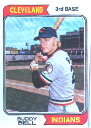 1974 Topps Baseball Cards      257     Buddy Bell