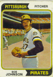 1974 Topps Baseball Cards      269     Bob Johnson