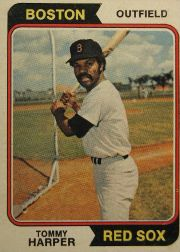 1974 Topps Baseball Cards      325     Tommy Harper