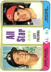1974 Topps Baseball Cards      336     Bobby Murcer/Pete Rose AS
