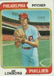 1974 Topps Baseball Cards      342     Jim Lonborg