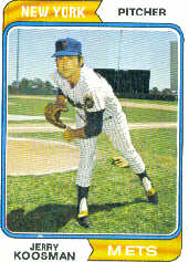 1974 Topps Baseball Cards      356     Jerry Koosman