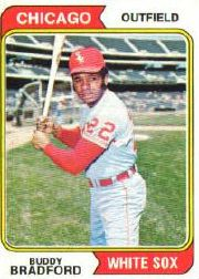 1974 Topps Baseball Cards      357     Buddy Bradford