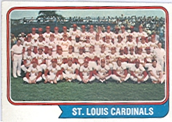1974 Topps Baseball Cards      036      St. Louis Cardinals TC