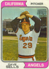 1974 Topps Baseball Cards      037      Dave Sells RC