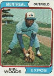 1974 Topps Baseball Cards      377     Ron Woods