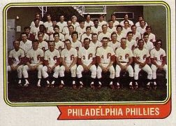 1974 Topps Baseball Cards      383     Philadelphia Phillies TC