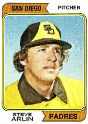 1974 Topps Baseball Cards      406     Steve Arlin