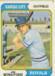 1974 Topps Baseball Cards      407     Jim Wohlford