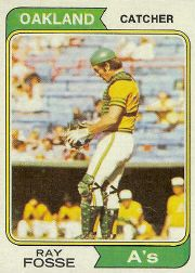 1974 Topps Baseball Cards      420     Ray Fosse