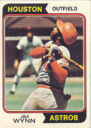 1974 Topps Baseball Cards      043      Jim Wynn
