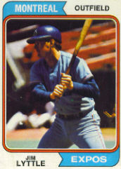 1974 Topps Baseball Cards      437     Jim Lyttle