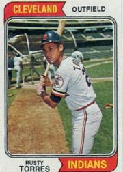 1974 Topps Baseball Cards      499     Rusty Torres