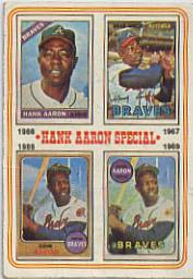 1974 Topps Baseball Cards      005       Hank Aaron Special 66-69