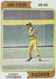 1974 Topps Baseball Cards      518     Derrel Thomas
