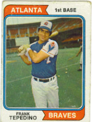 1974 Topps Baseball Cards      526     Frank Tepedino