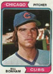 1974 Topps Baseball Cards      528     Bill Bonham