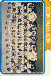 1974 Topps Baseball Cards      056      New York Mets TC
