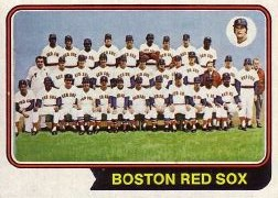1974 Topps Baseball Cards      567     Boston Red Sox TC