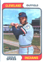 1974 Topps Baseball Cards      058      Charlie Spikes