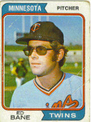 1974 Topps Baseball Cards      592     Ed Bane RC