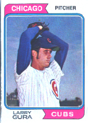 1974 Topps Baseball Cards      616     Larry Gura