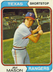 1974 Topps Baseball Cards      618     Jim Mason