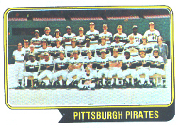 1974 Topps Baseball Cards      626     Pittsburgh Pirates TC